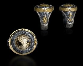 World's Greatest Captain Ring