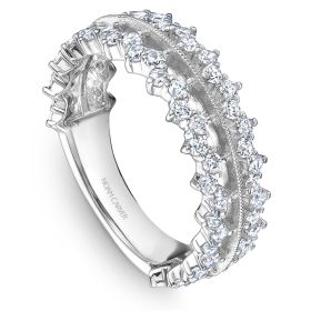 14K Noam Carver Stackable in White Gold with  62 Round Diamonds