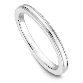 14K Noam Carver Stackable in White Gold