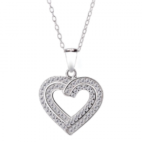 Valentines Special Heart necklace S00003
